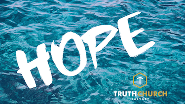 A Message of Hope – Romans 15:13