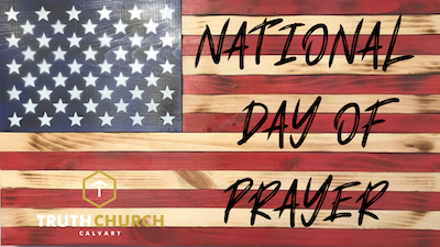 National Day of Prayer – March 15, 2020